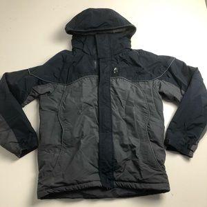 Nike Mens Winter Jacket Blue Gray Large